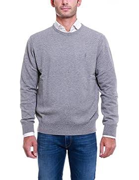 Jersey Ralph Lauren LsCnPp Long Sleeve gris