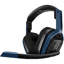 Logitech A20 Binaural Bandeau Bleu, Gris Casque audio - Casques audio (Game console + PC/Gaming, Binaural, Bandeau, Bleu, Gris, Sans fil, Circumaural)