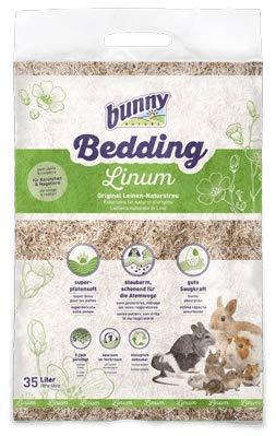 Bunny Bedding LINUM Lettiera naturale in Lino per roditori 12,5 L