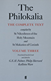 The Philokalia Vol 3: The Complete Text Compiled by St.Nikodimos of the Holy Mountain and St.Makarios of Corinth