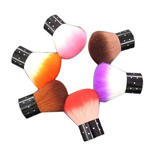 Brosses Pinceaux Jipai(TM) Outils de Maquillage de Teint Naturels Blush Correcteur Powder Foundation Push Cosmétiques(couleur aléatoire)