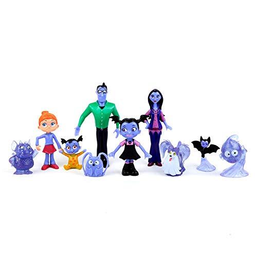 ONOGAL Vampirina Coleccion 10 Figuras Personajes Gregoria Boris Hauntley  Nanpire Creepy Caroline Poppy Peepleson Grandpop Oxana 6ad15bbb9466