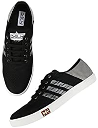 BADLAV Men Grey Black_Addi Casual Lace Up For Men Shoe