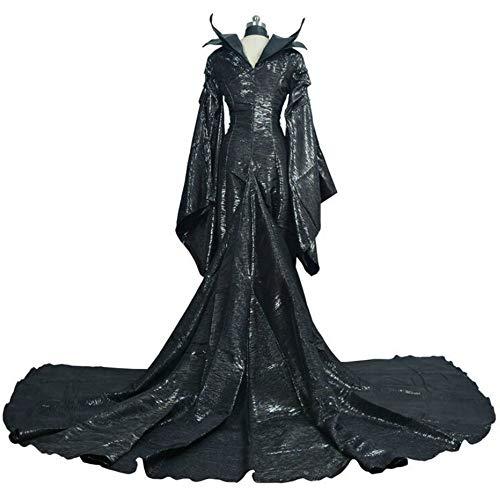 CHUNJ Halloween DamenkostümKleid Frauen Cosplay Kostüm Mädchen Prinzessin Disguise Sexy Halloween (Halloween-kostüme Bösen Königin)