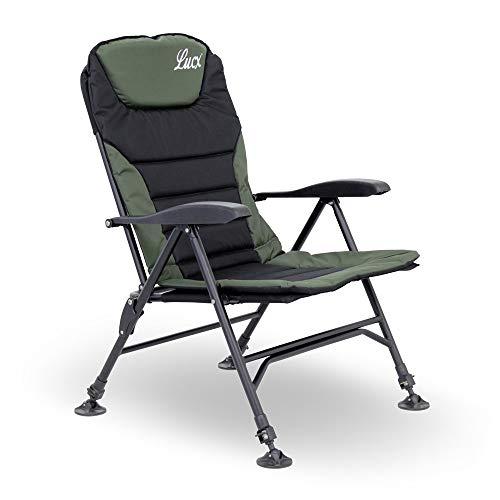 Lucx® Karpfenstuhl Easyline / Angelstuhl / Carp Chair / Gartenstuhl