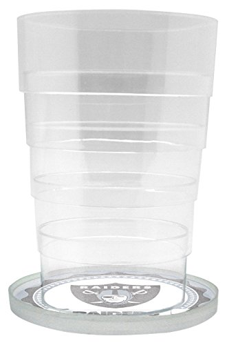 Duck House NFL Oakland Raiders Glas Getränkespender/Sun Tea Jar, 5 Liter