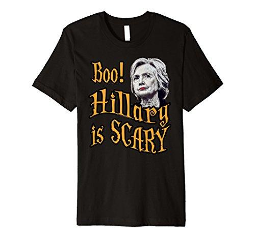 (Boo Hillary Clinton ist beängstigend Funny Halloween-Kostüm T-Shirt)