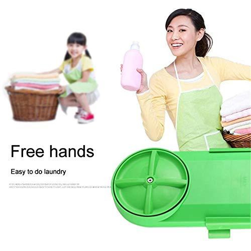 SOWLFE Tragbare Waschmaschine, Handwaschmaschine Kompakte Automatische Waschmaschine Wäscherei Mini Halbautomatische Waschmaschine Für Schlafsaal Rv Camping Reise Outdoor Geschäftsreise