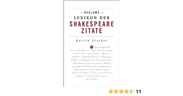 Zitate englisch shakespeare deutsch william William Shakespeare