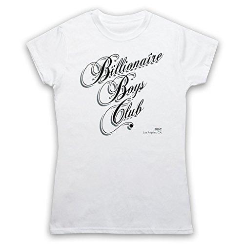 Inspiriert durch Billionaire Boys Club Film Unofficial Damen T-Shirt Weis