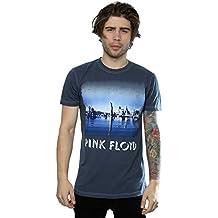 Aftershow Herren Pink Floyd Iceberg T-Shirt X-Large Vintage-Denim Blue