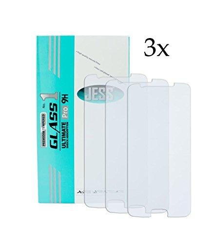 Cellking 3X Handy Bildschirm Schutzglas für Huawei Honor 7i Panzerfolie, Panzer Glas, Folie, Ultimate Pro 9H Bildschirm SchutzKlar, Hartglas.