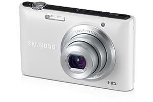 Samsung ST72 Digitalkamera (16,2 Megapixel, 5-fach opt. Zoom, 7,5 cm (3 Zoll) Display, bildstabilisiert, micro-SD Slot) weiß