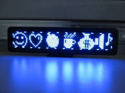 Welt Scrollen (Gowe 16* 96pixels, USB Display, blau Farbe, innen beweglichen Bildschirm, LED Akku, aufladbare Scrollen Fenster Schilder, Welt Sprache)