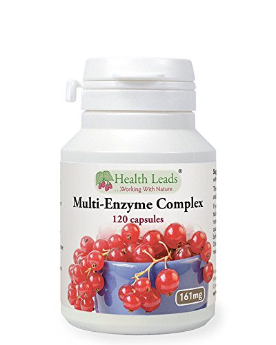 Multi-Enzyme Digestive Complex x 120 capsules (100% Additive Free Supplement) Test