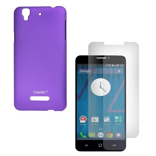 Casotec Ultra Slim Hard Shell Back Case Cover for Micromax Yu Yureka - Purple  available at amazon for Rs.125