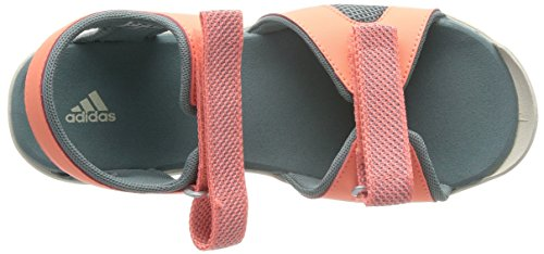 adidas Sandplay OD- Scarpe da trekking unisex bambino Arancione (Green Earth/Chalk White/Sun Glow)