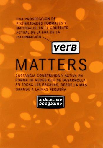 Verb Matters (ACTAR) por Albert Ferré
