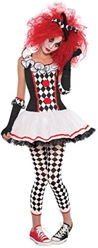 Glovelettes Kostüm - LADIES HARLEQUIN HONEY COSTUME - PLUS