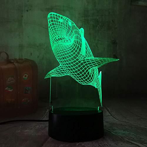 orangeww 3d Night Light Touch Table Lámparas de escritorio / 7 luces...