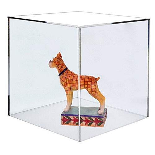 HOKU Holzhäuser Kunststofftechnik  Acrylglas Haube 15 x 15 x 15cm Plexiglas Abdeckung - Podest Vitrine