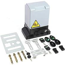 GOTOTP Kit de abridor de Puerta corredera automático Ajustable de 2000KG y 750w con Sonda de