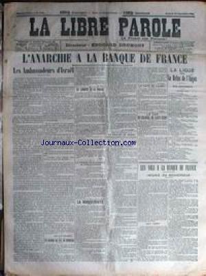 LIBRE PAROLE (LA) [No 3798] du 13/09/190...
