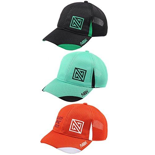 Nonbak gorra cap mesh casual/running tejido transpirable logo bordado