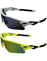 363f08968aa0 Zyaden Unisex Plastic Sports Sunglasses(Multicolour