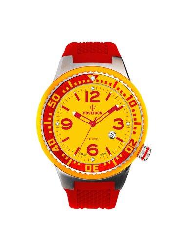 Kienzle K2103019023-00413 - Orologio da polso unisex, silicone, colore: rosso