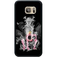 S7 Case,Luffy One Piece Gear Second Black Phone Case For Funda Samsung Galaxy S7