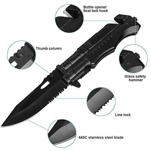 Zoom IMG-2 didisky coltello pieghevole e torcia