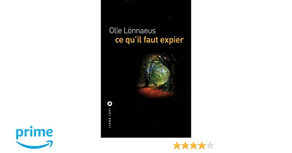 Ce quil faut expier (Policiers) (French Edition)
