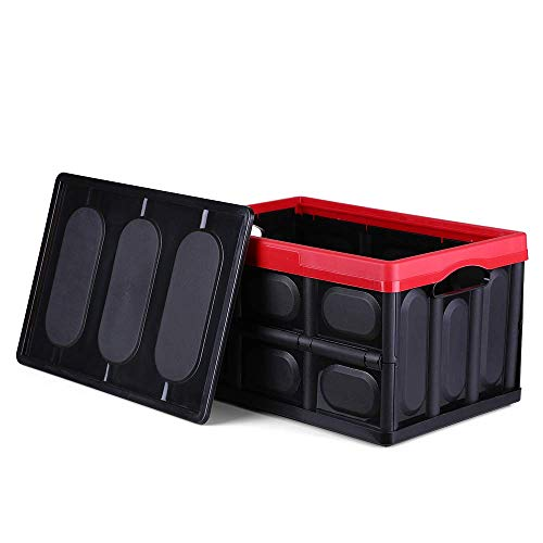 Xinfang Multifunktionale Aufbewahrungsbox Faltkiste Zusammenklappbare Enthält Box Stapelbarer Lagerplatz Faltbare Plastikbox Wäschekorb