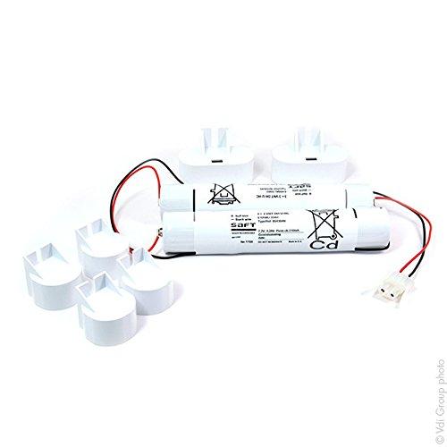 Arts Energy - Akku Notbeleuchtung Twin Stick Kabelausgang 7.2V 4000mAh - Packung Nicd-stick