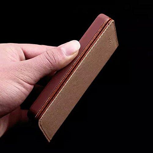 IPHONE 4 / 4S Echt Ledertasche,EVERGREENBUYING - Litchi Stil Handyhülle Für iPhone4 Aufklappbare Echtes Leder Schutzhülle im Flip Etui Cover Style Für iPhone 4 / 4S Rosa Rot