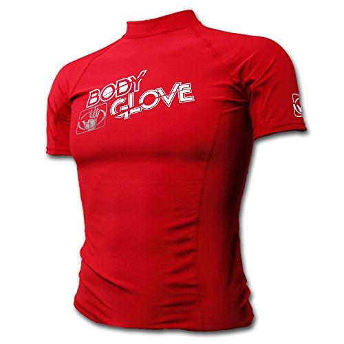 body-glove-basic-rash-guard-for-boys-short-sleeves-swimwear-nylon-spandex-red-sz-14-uvp-50
