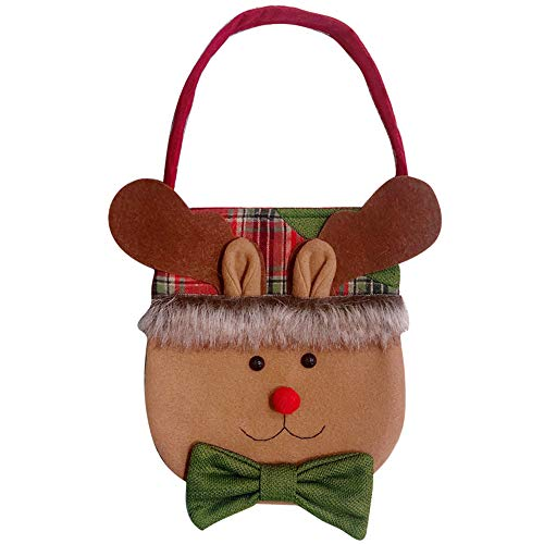 Selou Weihnachts Schneemann Dekoration Familienfeier Dekoration Weihnachtsgeschenktüte Süßigkeitstasche KreativeAndenken Nettes Weihnachtsmannhängen Festliches Baumhängen Türklopfer Feiertagsanpassung