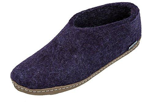 Glerups Modell AA Kinderfilzschuh violett