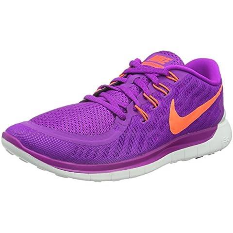 Nike Wmns Free 5.0 - Zapatillas de correr para mujer