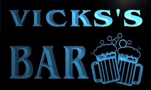 w025195-b-vickss-nom-accueil-bar-pub-beer-mugs-cheers-neon-sign-biere-enseigne-lumineuse