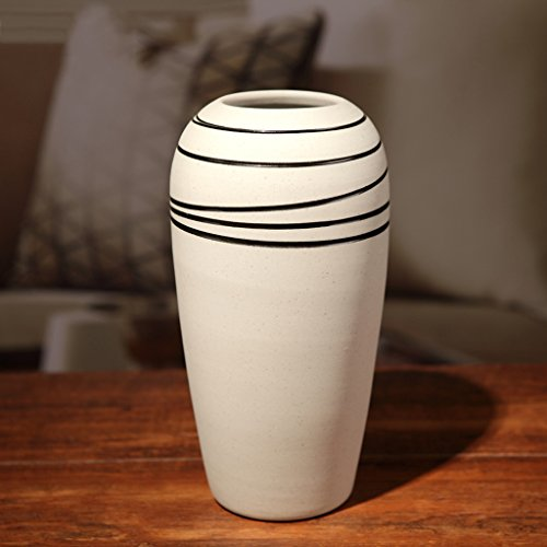 Vase en Céramique à la Maison Simple et Moderne à la Maison Table à Manger en Céramique à la Mode de TV de Mode Créatrice ZHAOJING (Taille : B)