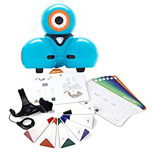 Wonder Workshop- Robot Dash y Sketch Kit Juguete para Aprender a Programar-Ahora en español, Color Azul (DASK01)