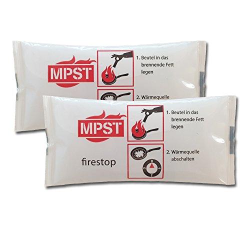 MPST Fettbrand-Löschpolster (2er Vorteilspack)