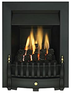 Ekofires 3010 Blenhiem Slimline Gas Fire Black