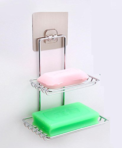 gymnljy-creative-non-stick-stainless-steel-soap-trace-double-decker-drain-soap-box