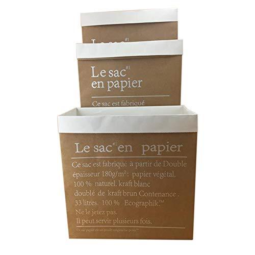 Perfecti 3 Sacos Papel Saco Paperbag De Papel Kraft