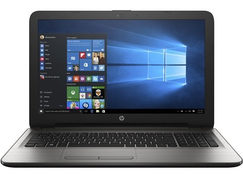 HP 15-ay004tx Notebook (5th Gen Intel Core i3- 4GB RAM- 1TB HDD- 39.62cm(15.6)- Windows 10-AMD RadeonTM R5 M430 Graphics 2 GB DDR3 dedicated) (Silver)
