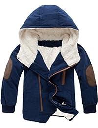 Vogstyle Manteau Enfants Bébé Blouson Garçon Capuche d hiver Chaud Coton  Épais ... ce67bca200a9