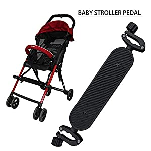 Baby Stroller Pedal Adjustable Pedal Foot Support Long Foot Pallet Portable Umbrella Drag Accessories for Baby Stroller   9